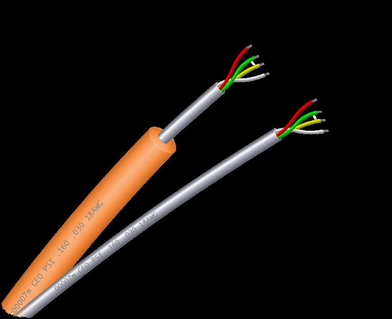 Tubing-Encapsulated-Downhole-Cable-TEC-Bare-&-Encapsulated-Multi-Conductor-Quadline-GEO-PSI