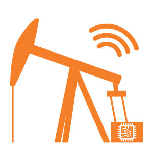 Real-Time-Downhole-Data-System-Smart-Well-Icon-Orange-GEO-PSI
