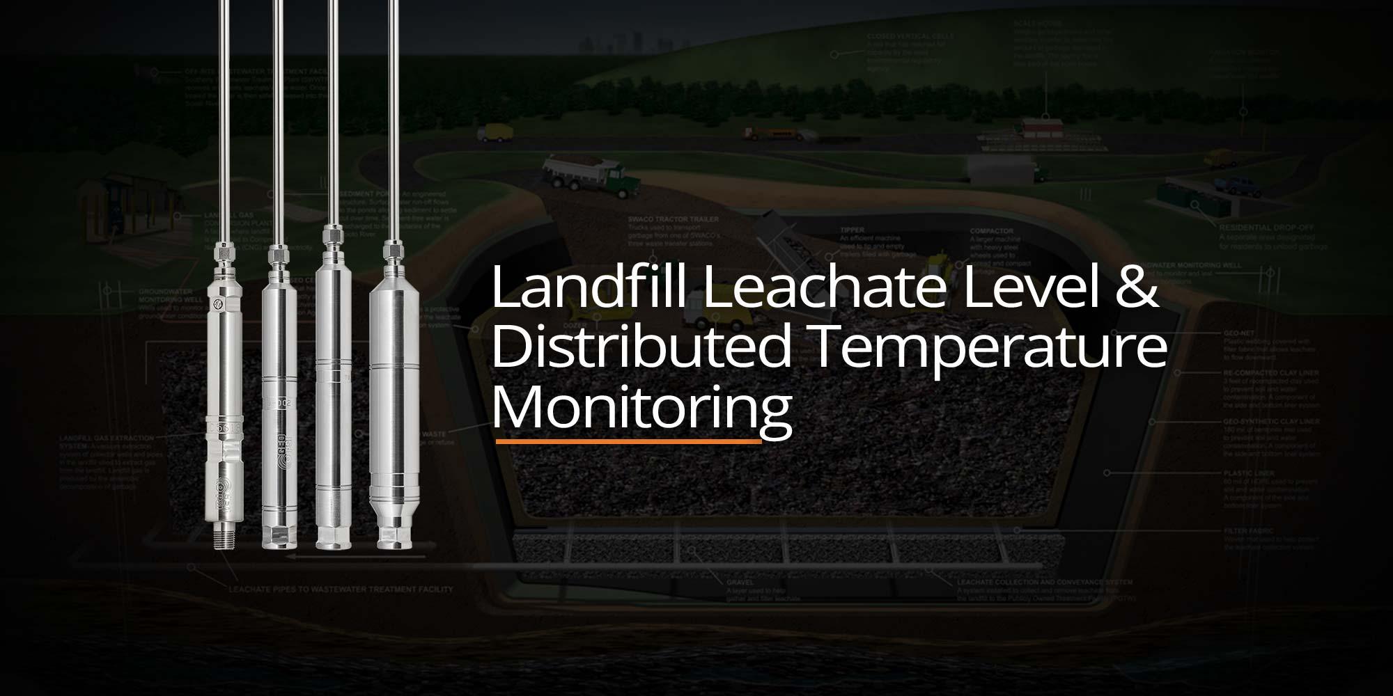 Landfill Leachate Level & Distributed Temperature Monitoring