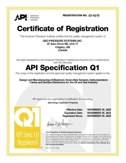 API-Q1-Certificate-GEO-Pressure-Systems-Inc.