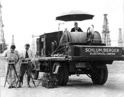 Early-Schlumberger-Wireline-Logging-Unit-GEO-PSI-eSlicklineTM-Blog